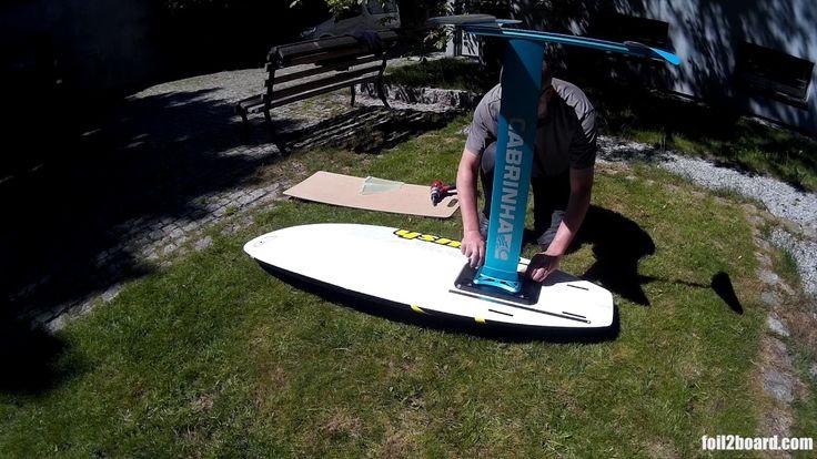 foil2board - Foil mount adjusting range