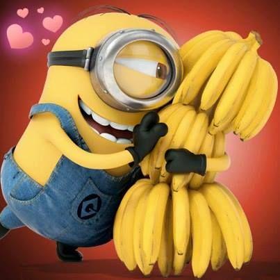 Minion loves bananas