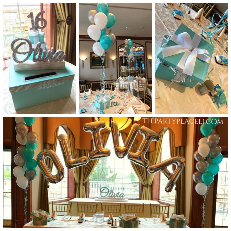 Sweet 16 decorations, card boxes, sign in boards, sign in books, Centerpieces, candelabras, candle boards, balloon arches, name arches, feather centerpieces