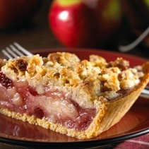 Cran-Apple Crunch Pie 1 Keebler® Ready Crust® Shortbread Pie Crust 1 egg