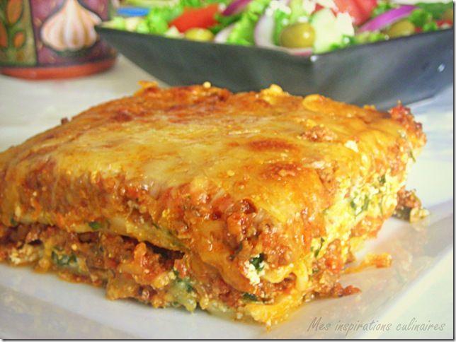 Lasagnes à la bolognaise, recette facile