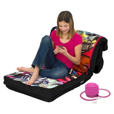 Monster High Inflatable Airbed Mattress, Black