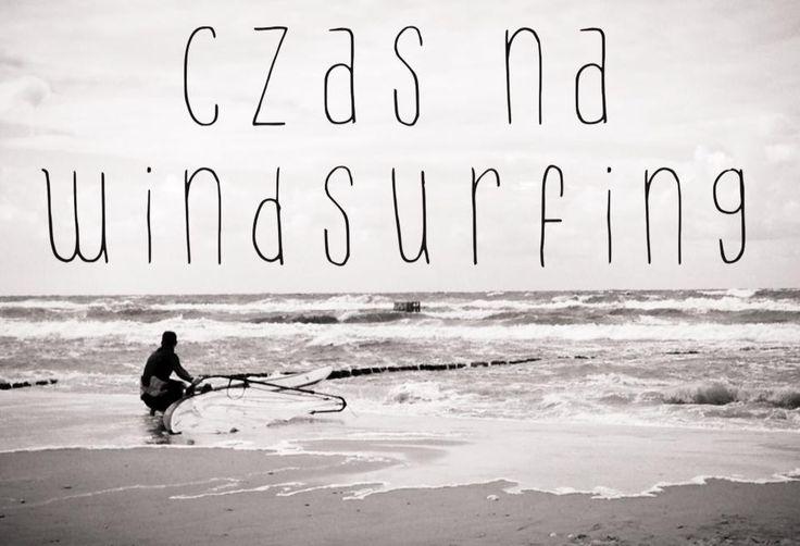 time to windsurfing  #rewal #bałtyk #poland