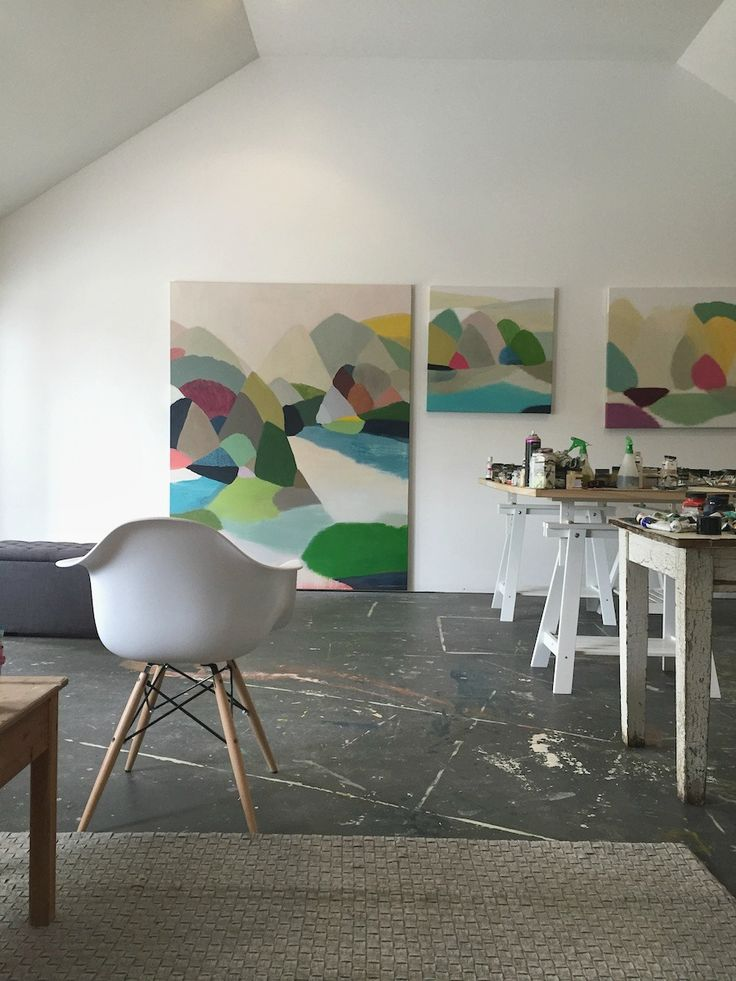 Interview with Australian Landscape Artist Belynda Henry l Contemporary Australian landscape artist l Abstract landscape artist #art #stylecurator #stylecuratorau