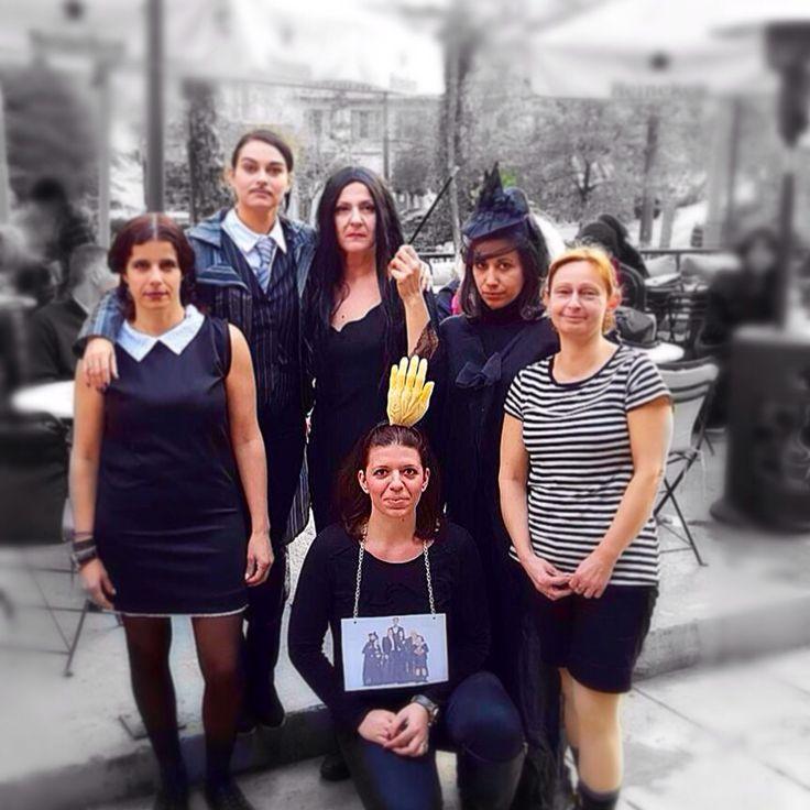 Addams family!!!!! Haloween craziness