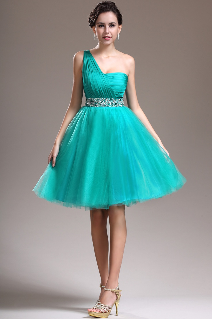 24 best bridesmaid dresses images on pinterest cocktail dresses usd 14999 edressit new delicate beads one shoulder green cocktail dress party dress 04134704 ombrellifo Images