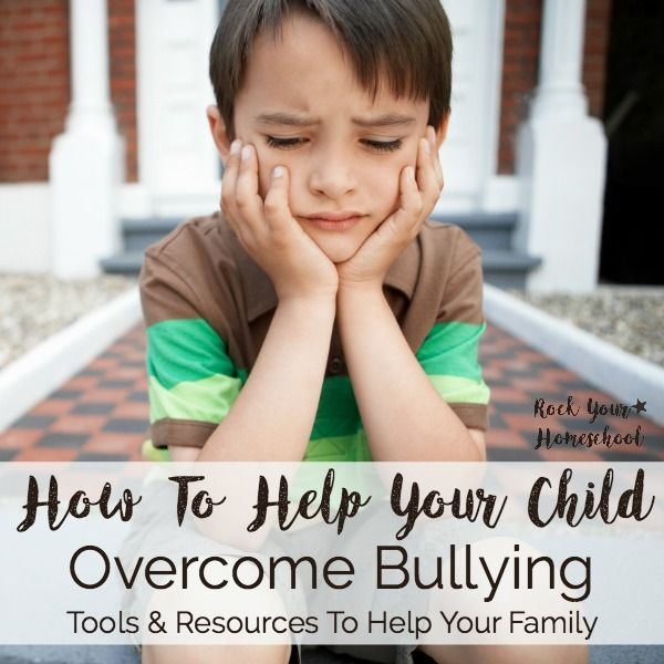 Has bullying been an issue for you child? Do you want to know what to do in case your kids ever experience bullying? Read my family's story and get the tools you need to help you family deal with bullies. Find more family support & tips (especially for homeschoolers) at rockyourhomeschool.net
