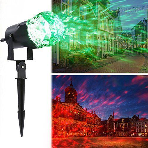 Lampe de Jardin, OCDAY imperméable niveau IP44 Lumière de flamme rotatif pour décoration de noël extérieur pour jardin/arbre/bassin/piscine…