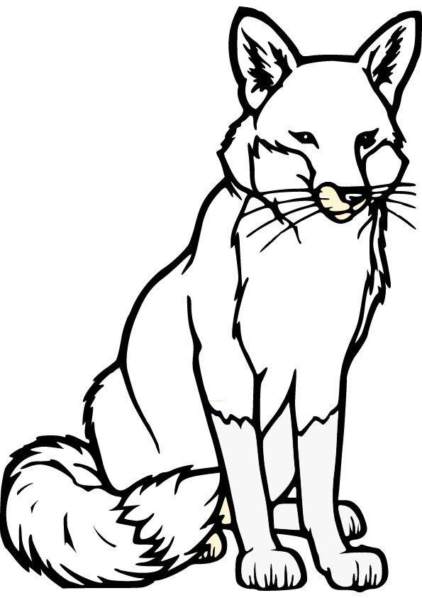 Ausmalbilder Jäger Zum Ausdrucken: Fox Coloring Pages