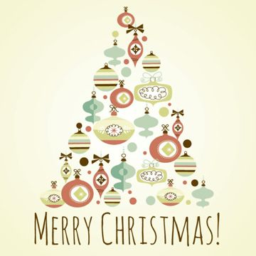 The offbeat Christmas tree