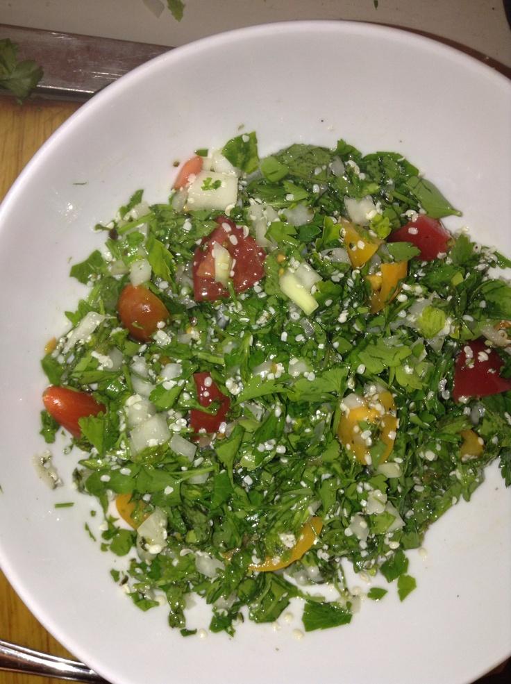Tabbouleh salad | Tabbouleh salad | Pinterest