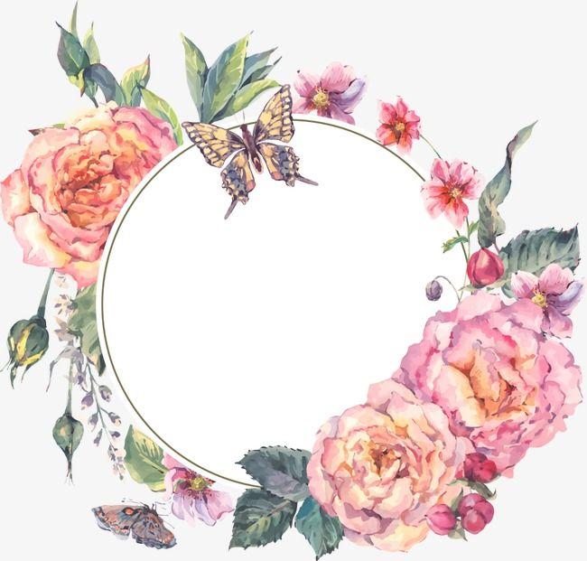 Vector Flores pintadas à mão, Flores, Flores, As Flores PNG e Vector