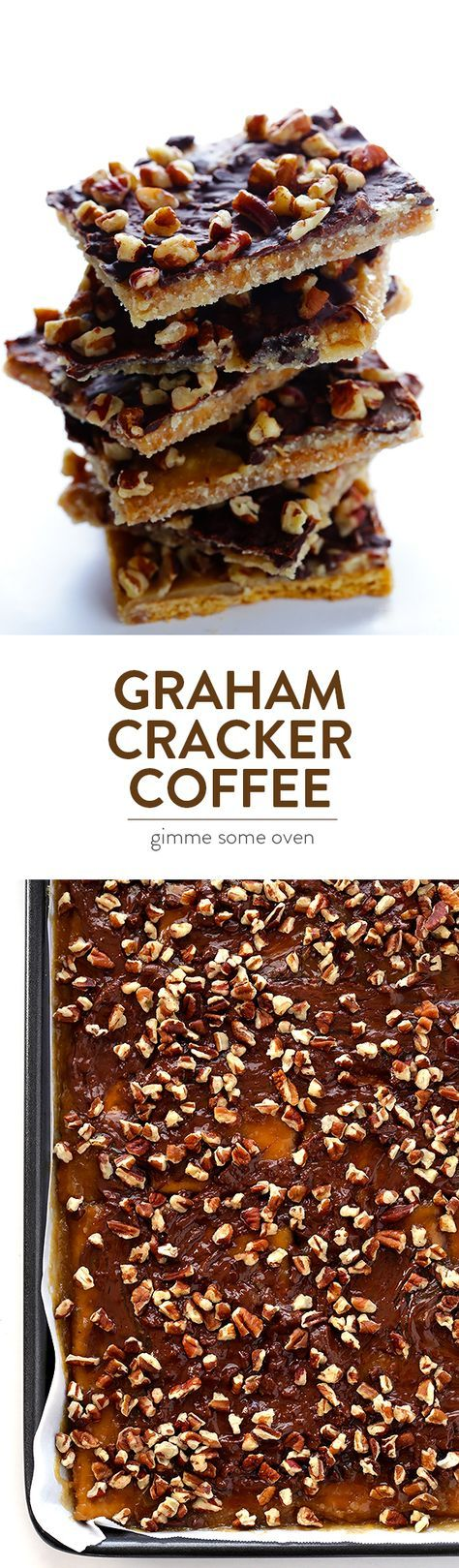 All you need are 5 simple ingredients to make this easy Graham Cracker Toffee.