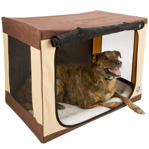FREE Shipping! Take Your Furry Friend with You! Use your Travel Lite Soft Dog Crate on vacation or enjoying the great outdoors because it can be easily set up and taken down in a matter of seconds. Th