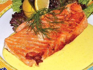 Grilovaný losos / Grilled salmon