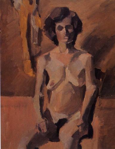 """Mina Papatheodorou Valyraki: """"Nude in space"""", 1979"""