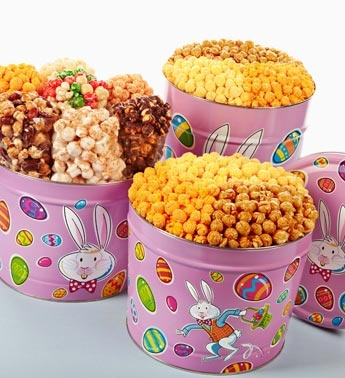 42 best spring easter images on pinterest gourmet popcorn mr fun bunny popcorn tins negle Gallery