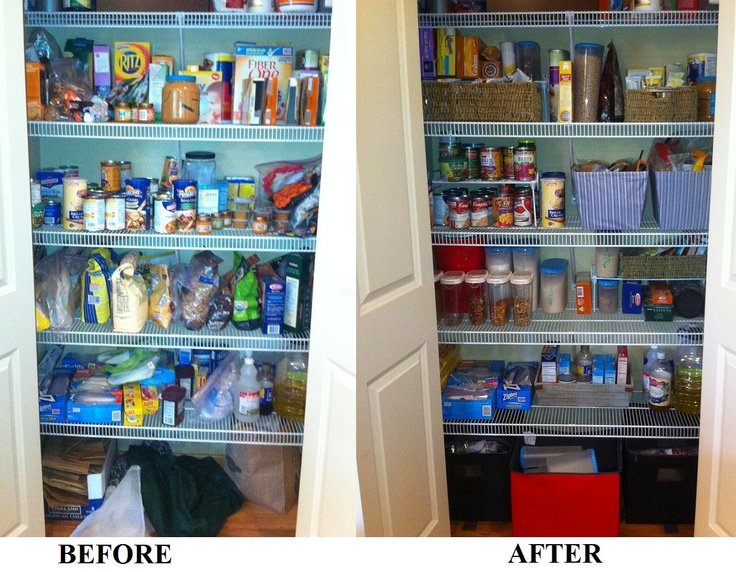 Inspired By Pinterest I Reorganized My Pantry Containers