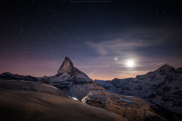 Moonlight and Toblerone by Coolbiere. A., via 500px