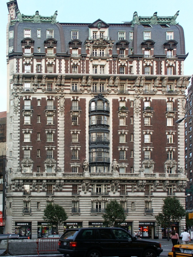 The Dorilton, Broadway Facade, Street. Find This Pin And More On New York  Apartment Buildings ...