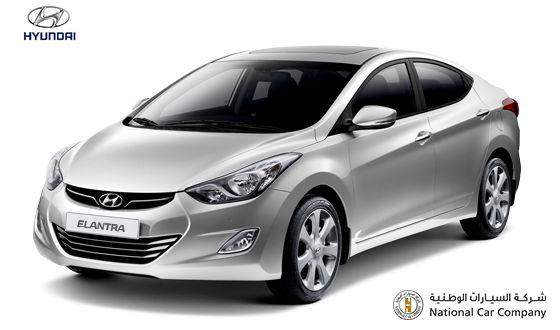 2015 Hyundai Elantra, sharp and elegant sedan #HyundaiElantra #HyundaiQatar