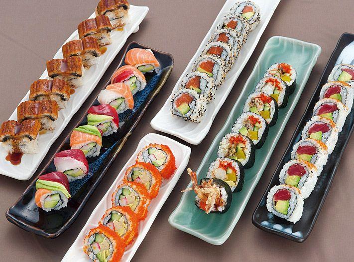 Sushi Plates (no recipe) but so pretty and yummy