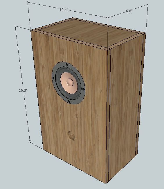 Just 19 years old, sirbyrd set out to build his friend a pair of desktop speakers of his own design using solid walnut and scrap plywood, creating a handsome cabinet design more distinct than anything you'd see at your local home electronics retailer...