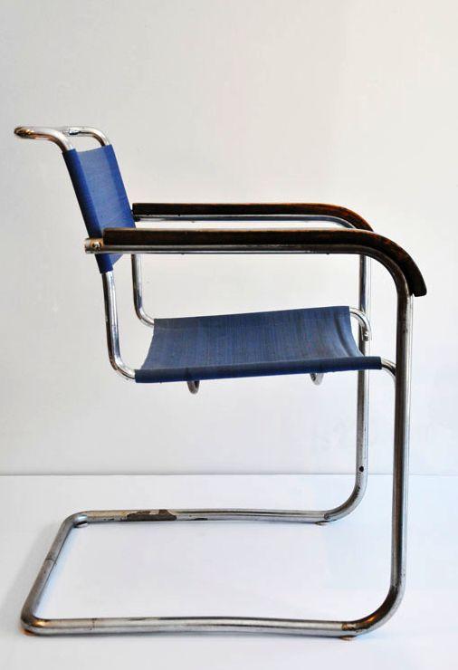 B34 Chair By Marcel Breuer, 1930's @ Arts220