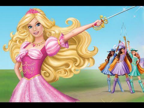 Barbie Y Las Tres Mosqueteras Version En Espanol Youtube Barbie Te Para Tres Peliculas De Barbie