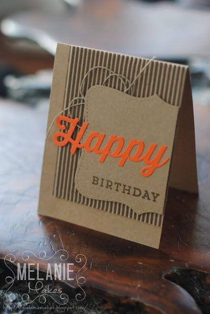 Melanie Makes: Masculine Happy Birthday Everyone Card My Favorite Things Happy Everything, Happy Die-namics #mfthings #mfthings