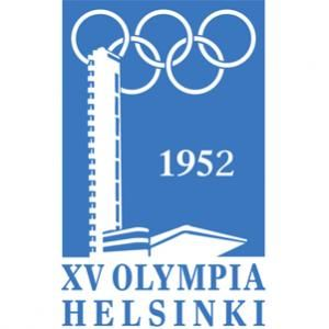 Official logo for the 1952 Helsinki Olympic games.