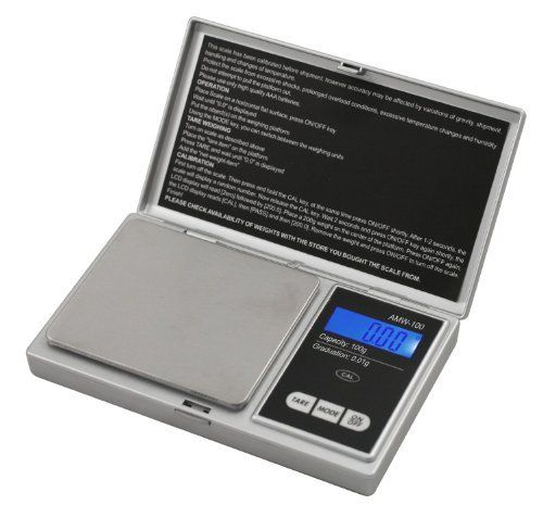 Professional Digital Pocket Scale MS-1000 Up to 1000 Grams (35 Ounces) by Spot Professional Pocket Scale. $13.90. The backlit LCD display helps make the numbers viewable and easy to read.. The MS-1000 Series is a great durable and compact pocket scale for those who are seeking the on the go high-tech portable scale up to 1000 grams.. 60 seconds auto power off. 2 AA Batteries INCLUDED!. Tray size is 3 X 2.5 inches.. The MS-1000 Series is a great durable and compact pocke...