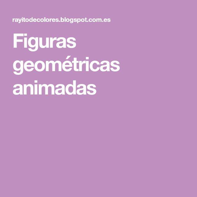 Figuras geométricas animadas
