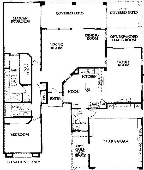 Coronado1850 sun lakes az floor plans homes pinterest for Arizona floor plans