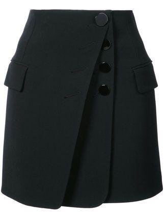 Alexander Wang юбка мини с пуговицами