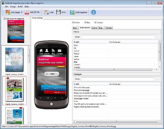 Android Book/Magazine App Maker http://www.chobocorp.ca/