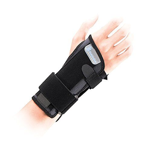 7040 - Dynastab Dual Wrist Immobilisation Brace - Recommended to provide wrist support for mild wrist sprains, wrist tendinitis, wrist tendon disorders, rheumatoid arthritis, crepitant synovitis of the wrist or for wrist support when returning to sporting activities. (Medium - Size 2)