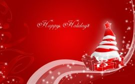 Wallpapers HD: Happy Holidays Christmas