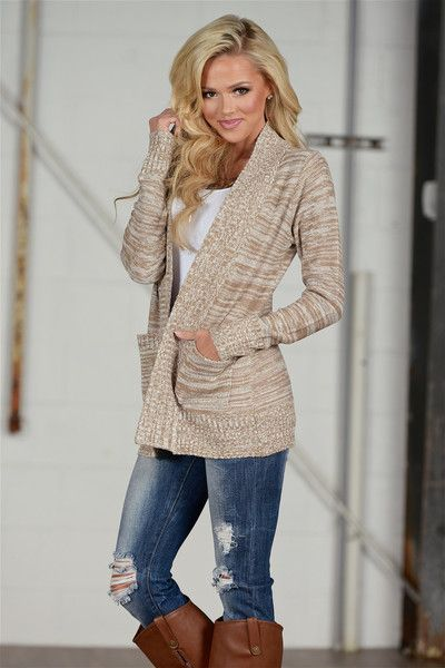 At Your Leisure Cardigan - Mocha