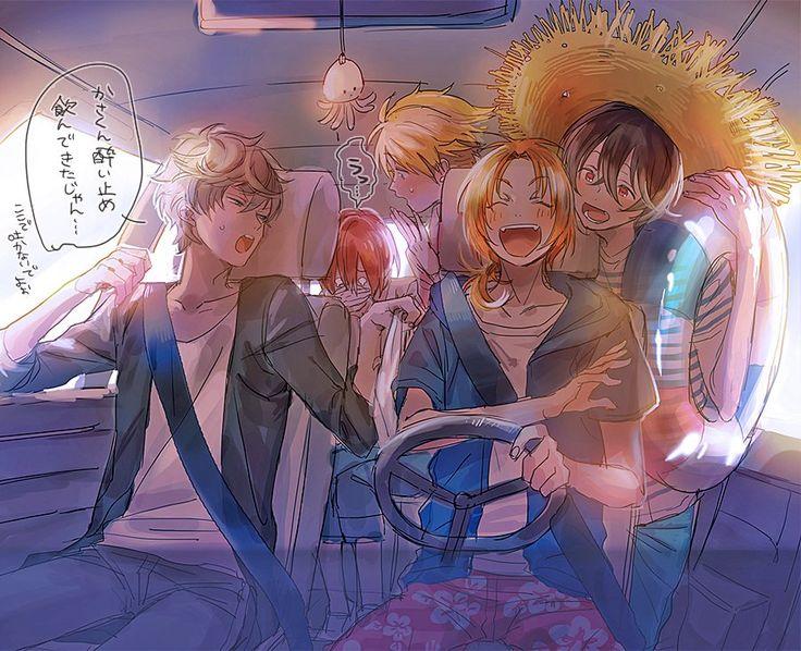 knights | Ensemble Stars {Looks like they're on a road tri- tSUKASA- OAO}