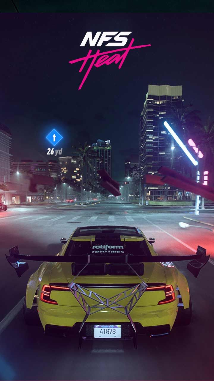 Need For Speed Heat Wallpaper Hd Phone Backgrounds Cars Poster Art On Iphone Android Lock Screen Need For Speed Cars Need For Speed Nissan Gtr Skyline