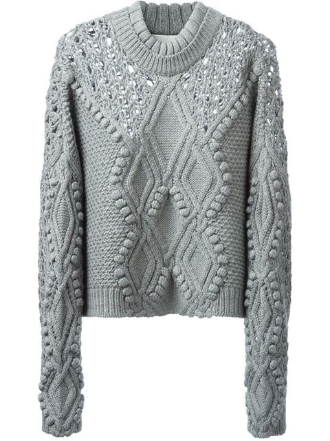 3.1 Phillip Lim Cable Knit Jumper - Stefania Mode - Farfetch.com