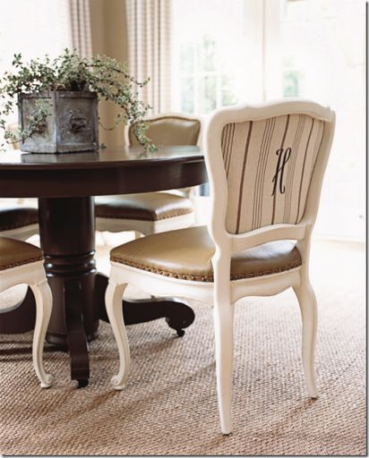 39 Best Recovered Dining Chairs Images On Pinterest  Dining Rooms Beauteous Material To Cover Dining Room Chairs Design Ideas