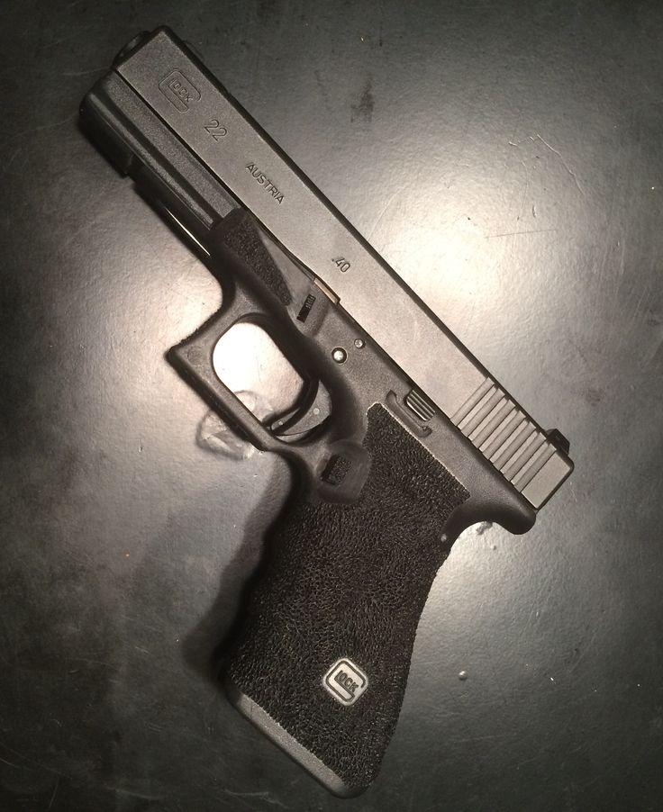 Stippled Glock 22 gen 3
