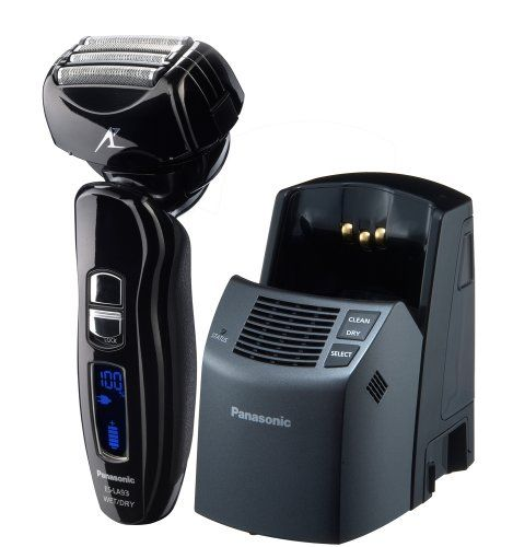 Panasonic ES-LA93-K Arc4 Men's Electric Shaver Wet/Dry with Multi-Flex Pivoting Head and Automatic Cleaning System Panasonic  Price: $193.76 & FREE Shipping. Details Coupon:	 Save  $40.00 more http://www.amazon.com/gp/product/B002N5MHLK/ref=as_li_tl?ie=UTF8&camp=1789&creative=390957&creativeASIN=B002N5MHLK&linkCode=as2&tag=smabisonl-20&linkId=WBWBYUEE4B6ZFIAV