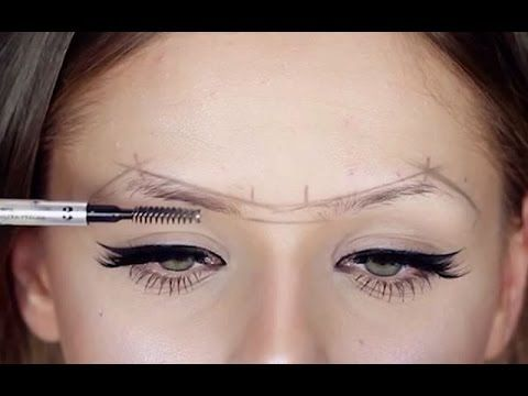 HOW TO FIX YOUR BROWS! - YouTube