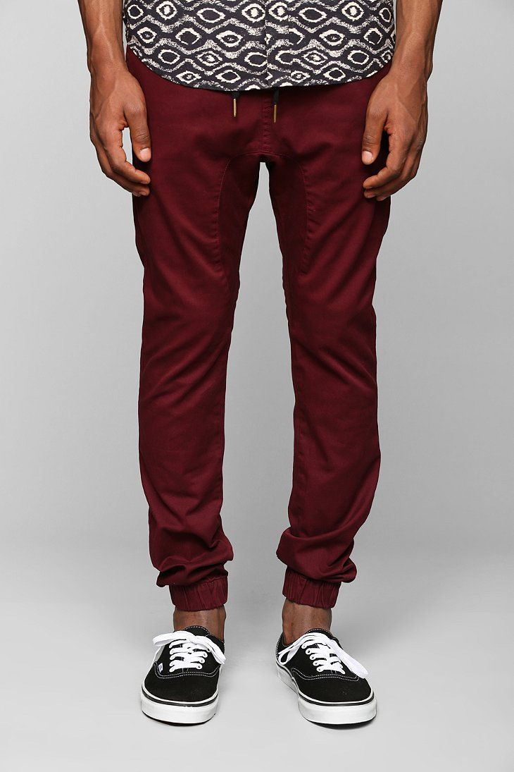 ZANEROBE Sure Shot Burgundy Jogger Pant | My Style | Pinterest | Gray Casual And Weekend Days