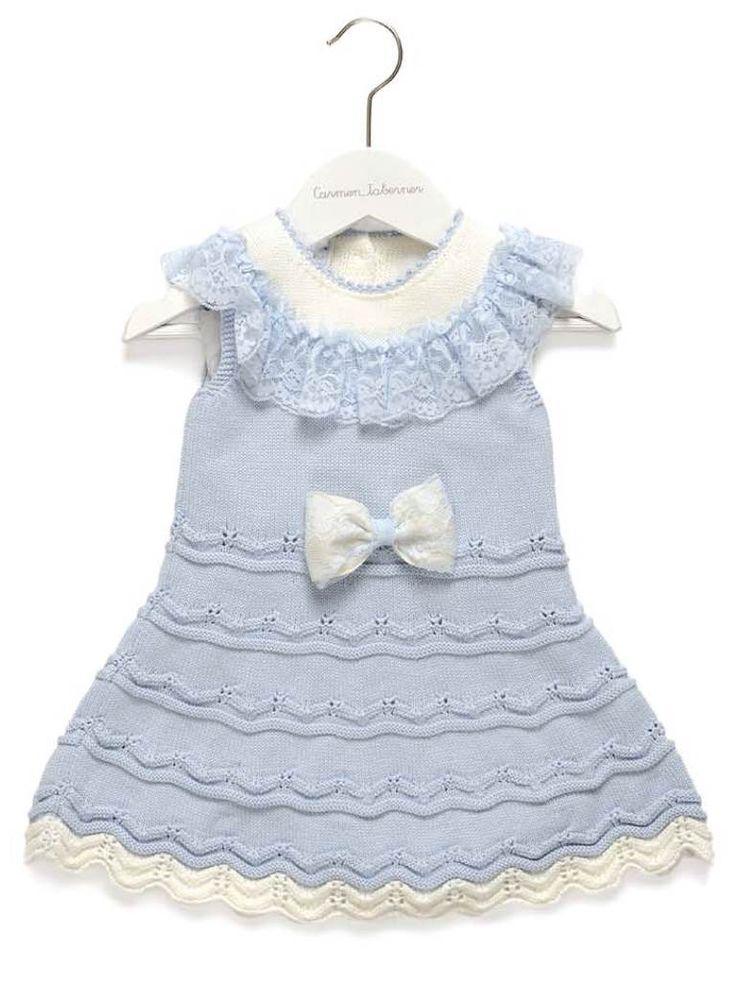 Carmen Taberner Sky Blue Dress