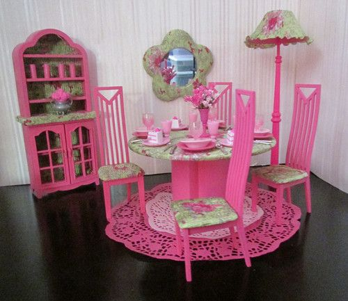 Barbie Room: 678 Best Images About Barbie Doll Dioramas On Pinterest