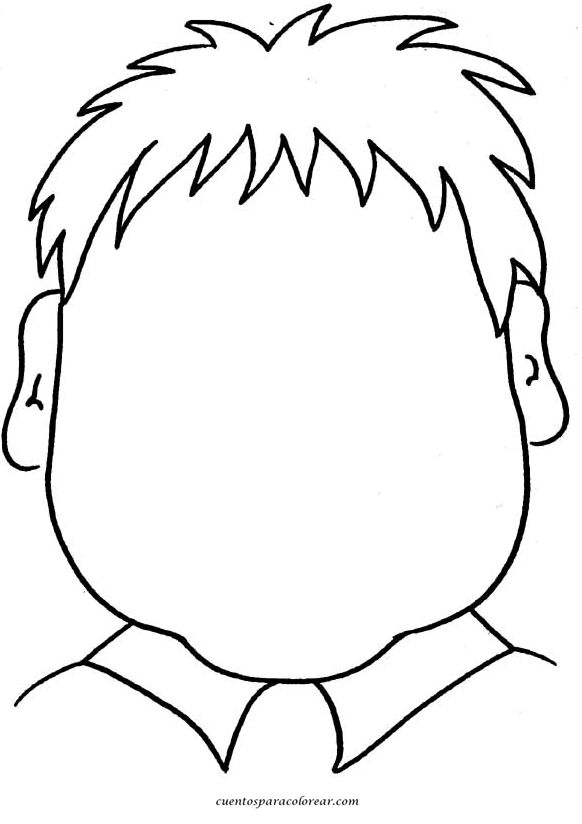 caras para dibujar y colorear de personas                                                                                                                                                     Más